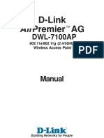 Dwl-7100ap Manual en Uk