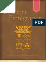 Document d'intégration