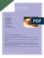 Guinness Banana Bread Recipe