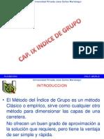 CAP IX Indice de Grupo
