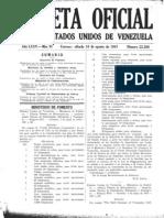 22388 GO 16 de agosto de 1947