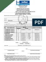 Certificado Ciclo i