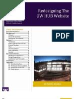 HUB Website Usability Report