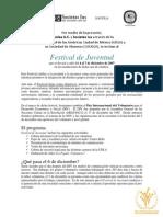 Invitación a Festival de Juventud 2007