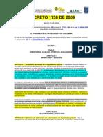 Avaluo Judicial DECRETO 1730 de 2009