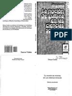 Cuche Denys - La Nocion de Cultura en Las Ciencias Sociales Opt