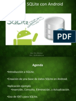Uso de SQLite Con Android