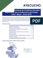 Compendio Ayacucho Abril - Junio 2013