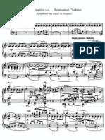 Ravel - À la manière de Chabrier
