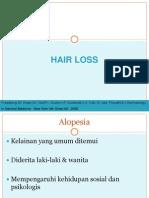 Alopesia Areata, Androgenik, Telogen Effluvium