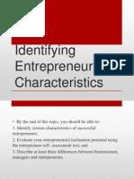 Chapter 2 entrepreneur