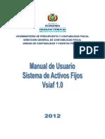 Manual Vsiaf