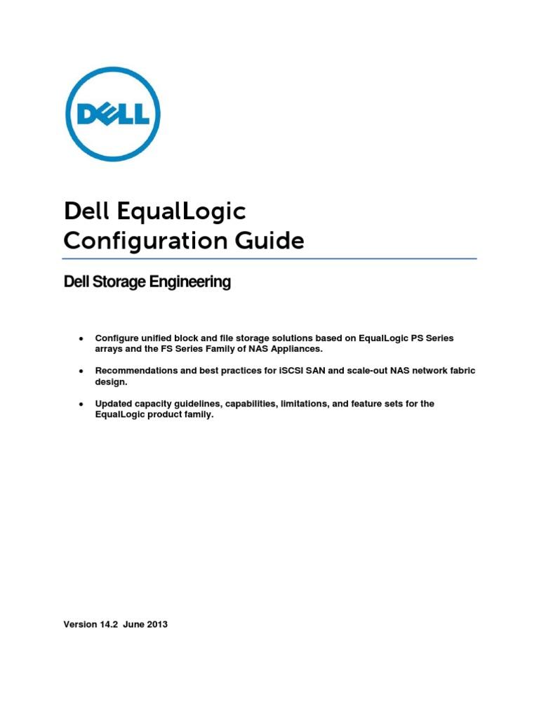 DellEqualLogicConfigurationGuide_v14.2 | Network Switch | Port (Computer  Networking)