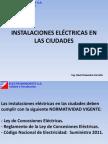 3. Inst. Electr. en Las Ciudades Ing. d. Saavedra Enosa