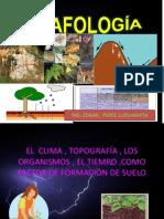 CLASE Nº3 FORMACION DE SUELOS