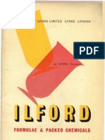 Ilford Formulae Dev 1953