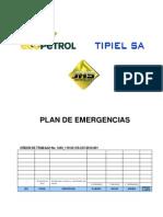 Plan de Emergencias Generico - Tipiel 203
