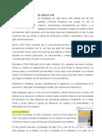LOS EDUCADORES MÁS DESTACADOS DEL SIGLO XVII - XVIII