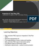 Inspection Test Plan ITP v3