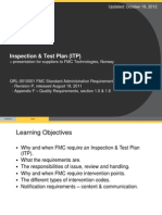 Inspection Test Plan ITP v3