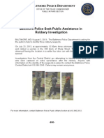 Press Release Aug 02 2013 Robbery Suspects
