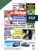LE BUTEUR PDF du 25/05/2009