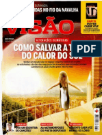 Portuguese magazine VISÃO hypes the alleged climate change and presents geo-engineering as solution