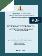 Recursos Tecnologicos TECNOLOGIA de BASE