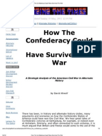 How the Confederacy Could Have Survived