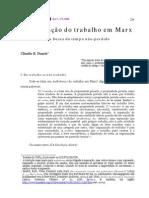 DUARTE Claudio a Superacao Do Trabalho Em Marx