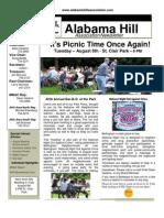 31 Jul 13 Newsletter