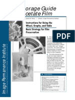 PIP (Image Permanence Institute at the Rochester Institute of Technology) Storage Guide for Acetate Film - Basic Strategy for Film Preservation