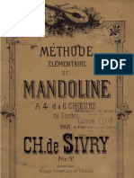 Sivry Methode Elementaire de Mandoline