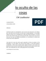 El Lado Oculto de Las Cosas. Leadbeater