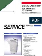Service Manual SCX-6345