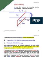 Stub Matching (Transmission Lines)
