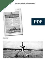 Profile - The Schneider Trophy Winning Supermarine S.5.