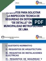 Exposicion Requisitos Para Itsdc de Detalle