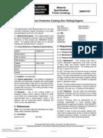 GMW_4707-2002 Corrosion Protective Coating Zinc Plating Organic