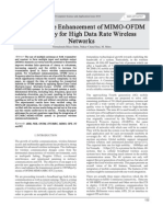 Per formance Enhancement of MIMO-OFDM Technology for High Data Rate Wireless Networks