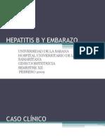 Caso Clinico y Presentacion Hepatitis B
