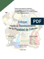 Trabajo Enfoques y Modelos de La Educacion Multicultural