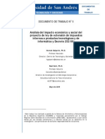 Impuestos y Decretos Ley Argentina Mayo2009