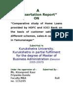 Home Loan - Hdfc&Icici Bank
