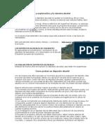 La exploración y la minería aluvial