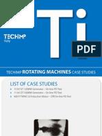 Case Studies - Rotating Machines