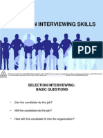 20 Selection Interviewing Skills