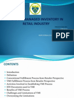Vendor Managed Inventory in Retail Industry