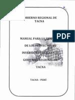 Manual_Ejecución Proyectos de Inversión GRT (Aprob 2012)