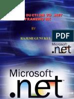 .net framework_Rajesg Gunukula